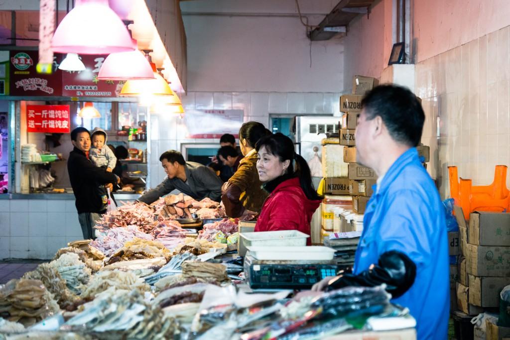 Shanghai  Marktleben (1)