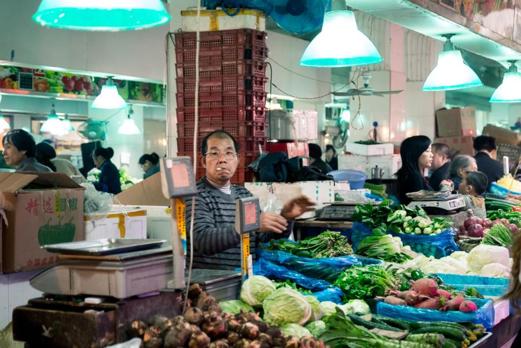 Shanghai  Marktleben (2)