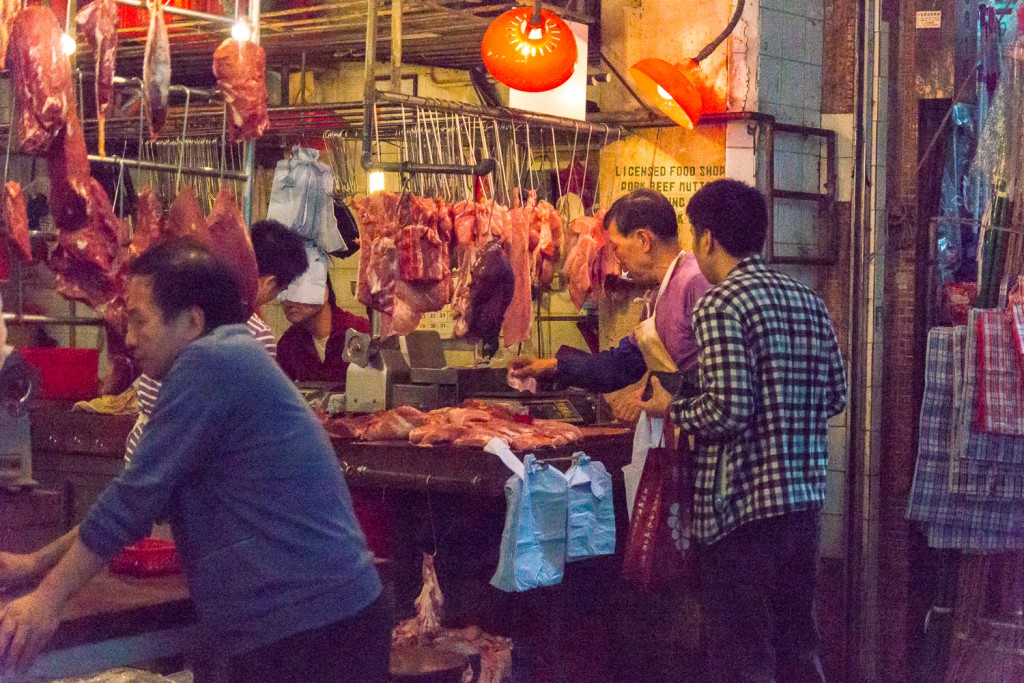 Hong Kong Marktleben (1)